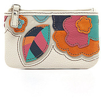 Fossil Hunter Floral Zip Coin Purse