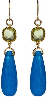 Alvina Abramova Madison Earrings in Blue Jade