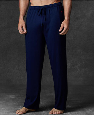 Polo Ralph Lauren Men's Ultra-Soft Pima Cotton Supreme Comfort Knit Pajama Pants $42 thestylecure.com