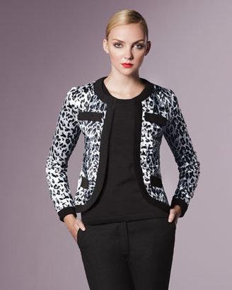 Michael Simon Animal-Print Jacket, Women's