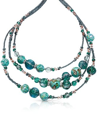 Antica Murrina Elizabeth 1 Murano Glass Necklace $152 thestylecure.com