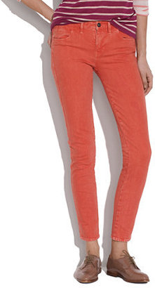 Madewell Skinny Skinny Ankle Jeans in Ground Paprika