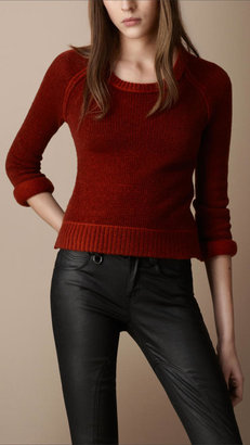 Textured Wool Cashmere Sweater