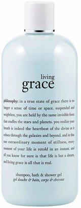 philosophy living grace shower gel, 16 oz