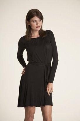 Velvet Khali Dress in Black $167 thestylecure.com