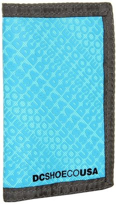 DC Ripstop 5 Men's Wallet (Monogram Black) - Bags and Luggage