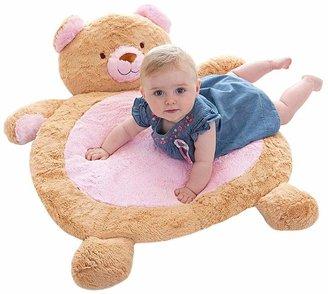 Factory Fuzzy Bear Baby Mat, Pink