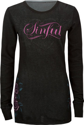 Sinful Carilo Womens Reversible Thermal