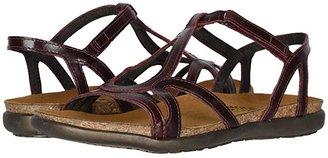 Naot Footwear Dorith (Black Raven Leather) Women's Sandals
