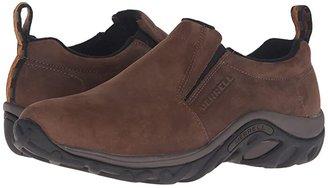 Merrell Jungle Moc Nubuck (Brown Nubuck) Men's Slip on Shoes
