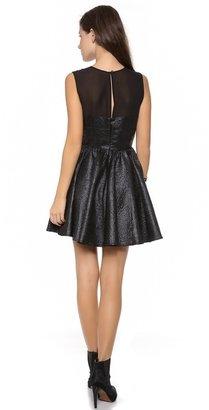 Rachel Zoe Mara Banded Sleeveless Dress