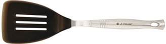 Le Creuset RevolutionTM Stainless Steel Slotted Turner - Silicone