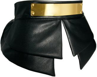 Asos Peplum Plate Detail Waist Belt