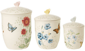 Lenox Butterfly Meadow Canister Set of 3