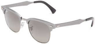 Ray-Ban 0RB3507 136/N549 Polarized Clubmaster Sunglasses, 49 mm