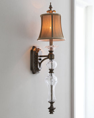 Horchow Golden Shade Sconce