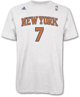 Reebok Men's adidas New York Knicks NBA Carmelo Anthony Name And Number T-Shirt