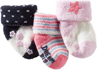 Osh Kosh 3-Pack Terry Cuff Socks
