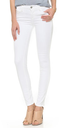 J Brand 811 Mid Rise Skinny Jeans $172 thestylecure.com