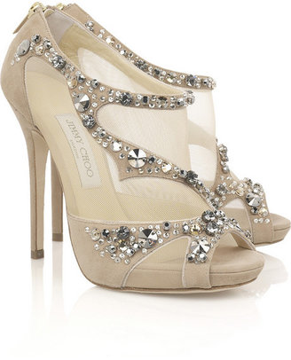 Jimmy Choo Quinze embellished sandals