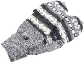 Obey Oak Ridge Mittens (Heather Grey) - Accessories