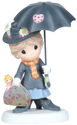 """Precious Moments Disney Mary Poppins """"You're Practically Perfect In Every Way"""" Figurine"""