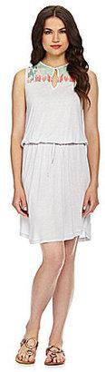 Calvin Klein Jeans Embroidered Sleeveless Dress