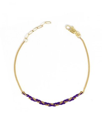 Carnet de Mode Hornica Bracelet - Enlace moi - purple