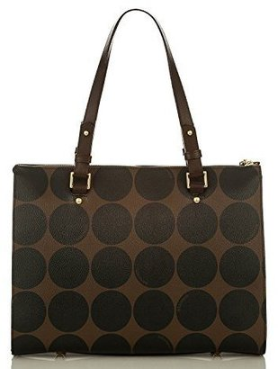 Brahmin Anywhere Tote Brown Barcelona