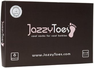 Jazzy Toes Loafers Sock Set - Girls-0-12M
