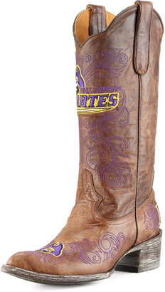 Gameday Boot Company East Carolina University Tall Gameday Boots, Brass