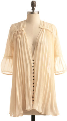 Gauze and Effect Top