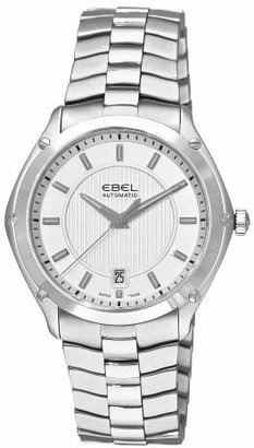 Ebel Men's 'Classic Sport' Swiss Automatic Stainless Steel Dress Watch