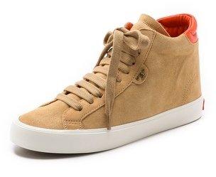 Tory Burch Caleb High Top Sneakers