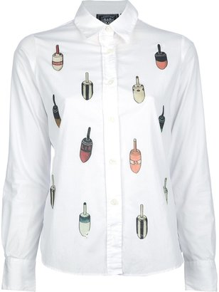 Libertine buoy print shirt