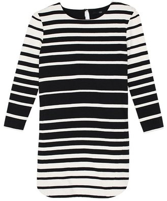 Tibi Variegated Stripe Tunic