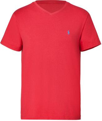 Ralph Lauren Spring red jersey medium fit t-shirt
