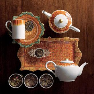 Gump's Krakatoa Teapot and Mugs