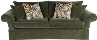 Rooms To Go Cindy Crawford Blaire Pointe Olive Sofa