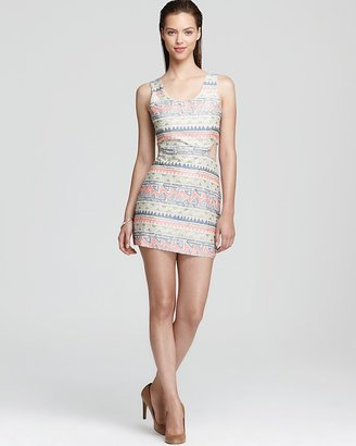 Parker Slash Dress - with Embroidery