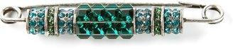 Lanvin diamanté brooch