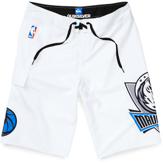 Quiksilver NBA Shorts, Dallas Mavericks Board Shorts
