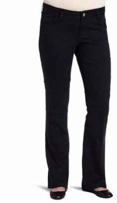 Southpole Junior's Plus Size Basic Uniform Bootcut Pant
