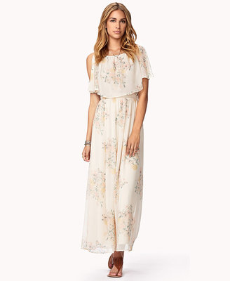 Forever 21 Whimsical Floral Maxi Dress