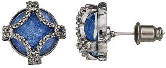 Vera Wang Simply vera caged stud earrings