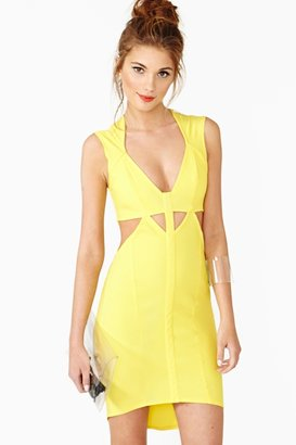 Nasty Gal Burn Bright Dress