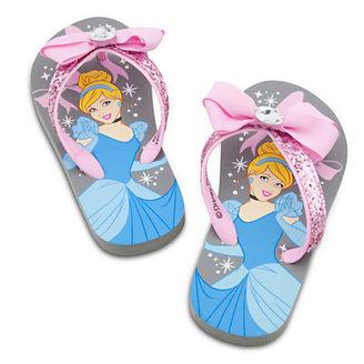 Disney Cinderella Flip Flops for Girls