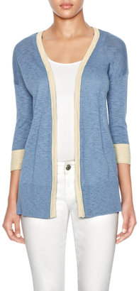 The Limited Striped Back Open Cardigan