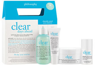 Philosophy 'Clear Days Ahead' Acne Treatment Trial Kit $39 thestylecure.com