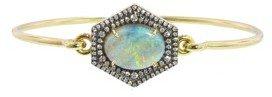 Jemma Wynne Oval Opal and Diamond Bracelet